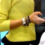 Elisabetta Gregoraci sneakers Balenciaga bracciali Cartier Anita Ko e Dior borsa Hermes 6