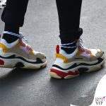 Elisabetta Gregoraci sneakers Balenciaga bracciali Cartier Anita Ko e Dior borsa Hermes 9