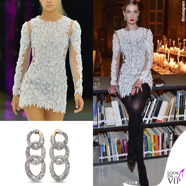 Eva Riccobono abito Byblos gioielli Pomellato 2