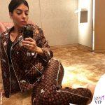 Georgina Rodriguez, 2.700 euro di pigiama