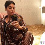 Georgina Rodriguez pigiama Louis Vuitton 2