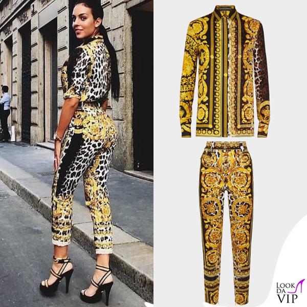 905e70aaa4 Georgina-Rodriguez-total-look-Versace-INSTAGRAM - Look da Vip