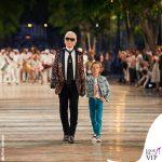 Karl Lagerfeld Hudson Kroenig sfilata Chanel 2016