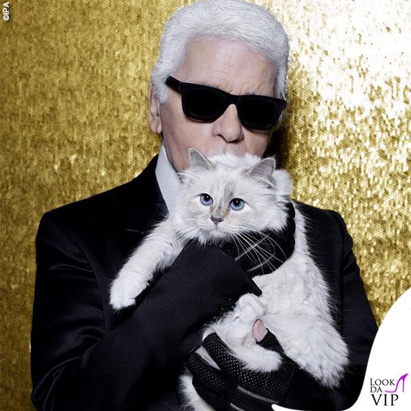 Karl Lagerfeld gatta Choupette