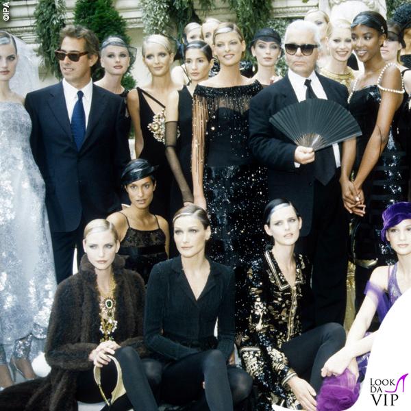Karl Lagerfeld sfilata Chanel 1997