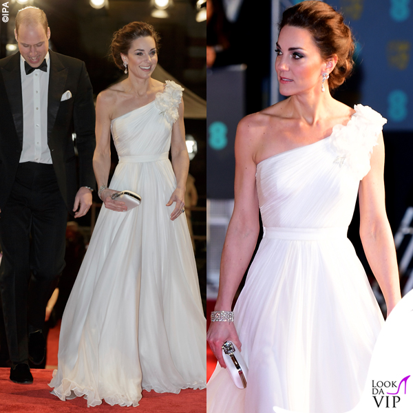 Kate Middleton abito e clutch Alexander McQueen pump Jimmy Choo 3