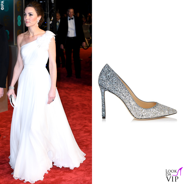 Kate Middleton abito e clutch Alexander McQueen pump Jimmy Choo 5