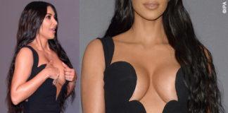 Kim Kardashian amFAR abito Versace 7