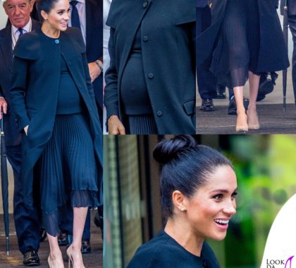 Meghan Markle outfit Givenchy pump Manolo Blahnik