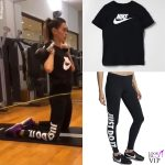 Melissa Satta outfit Nike