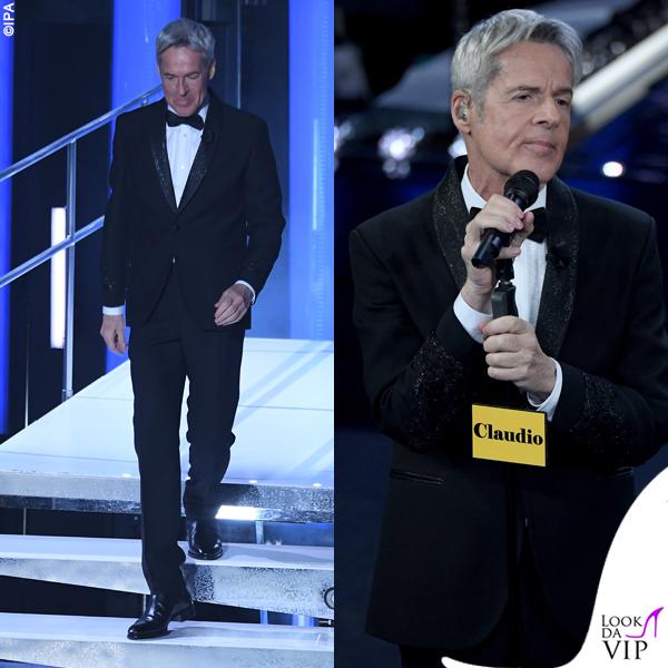Sanremo 2019 Claudio Baglioni abito Ermanno Scervino 2