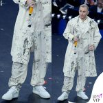 Sanremo 2019 Ghemon sneakers Off White