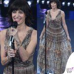 Sanremo 2019 Giorgia abito Dior