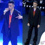 Sanremo 2019 Mahmood abito MSGM