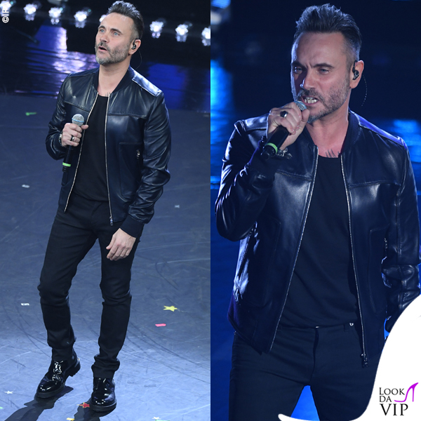 Sanremo 2019 Nek outfit Dolce&Gabbana