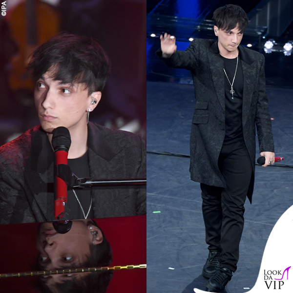 Sanremo 2019 Ultimo outfit Dolce&Gabbana