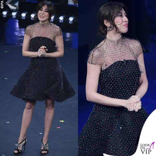 a5d92acf0990 Sanremo 2019 Virginia Raffaele abito Armani Privé 2 - Look da Vip