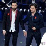 Sanremo 2019 quarta serata Ex Otago giacca Avan Toi