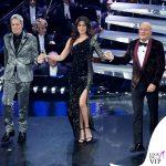 Sanremo 2019 quarta serata Virginia Rafaele abito monospalla Philosophy di Lorenzo Serafini 2