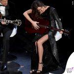 Sanremo 2019 quarta serata Virginia Rafaele abito monospalla Philosophy di Lorenzo Serafini 3