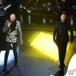 Sanremo 2019 quinta serata Boomdabash outfit Dolce&gabbana