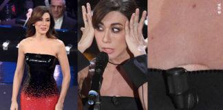 Sanremo 2019 quinta serata Virginia Rafaele abiti Armani Prive