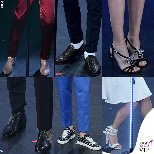 Sanremo 2019 scarpe