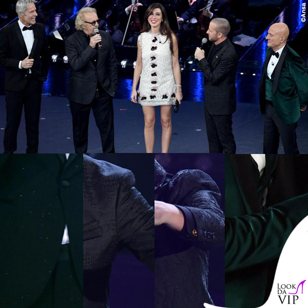 Sanremo 2019 terza serata Claudio Baglioni Umberto Tozzi Raf Claudio Bisio