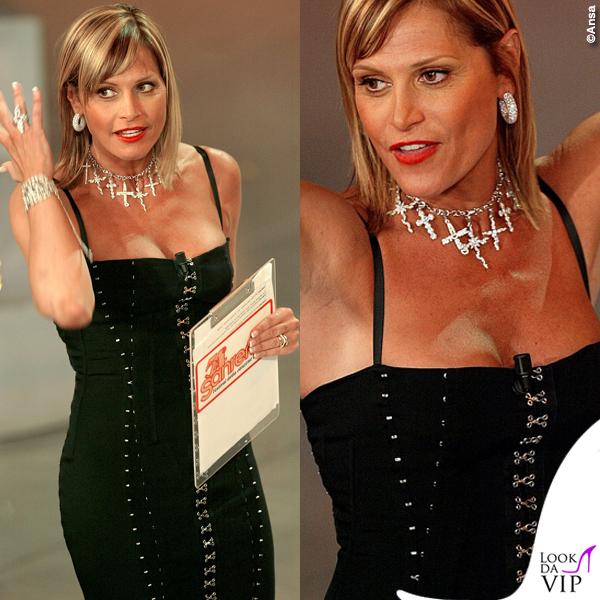 Simona Ventura Sanremo 2004 abito Dolce & Gabbbana