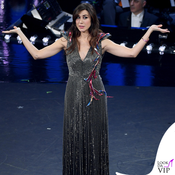 Virginia Raffele abito argento Schiaparelli Haute Couture 1