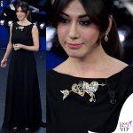 Virginia Raffele abito nero Schiaparelli Haute Couture 1