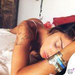 Belen-Rodriguez-bracciale-Cartier-Love