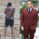 Ben Affleck tatuaggio schiena