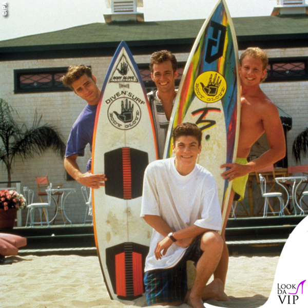 Beverly Hills 90210 Brandon Dylan Steve David