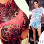 Cheryl Cole tatuaggio schiena