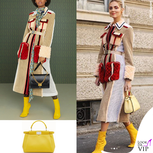 Chiara Ferragni outfit Fendi