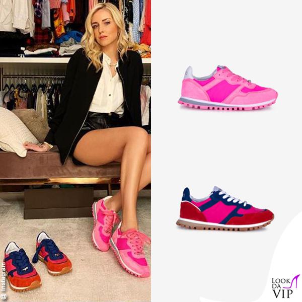 Chiara Ferragni sneakers Liu Jo