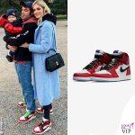 Fedez Chiara Ferragni sneakers Nike Air Jordan 1 Origin Story