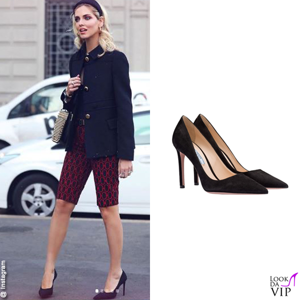 Chiara Ferragni total look Prada