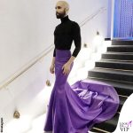 Conchita Wurst gonna Galia Lahav dolcevita Wolford