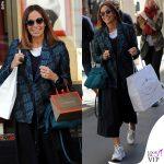 Cristina Parodi shopping Vhernier e Prada