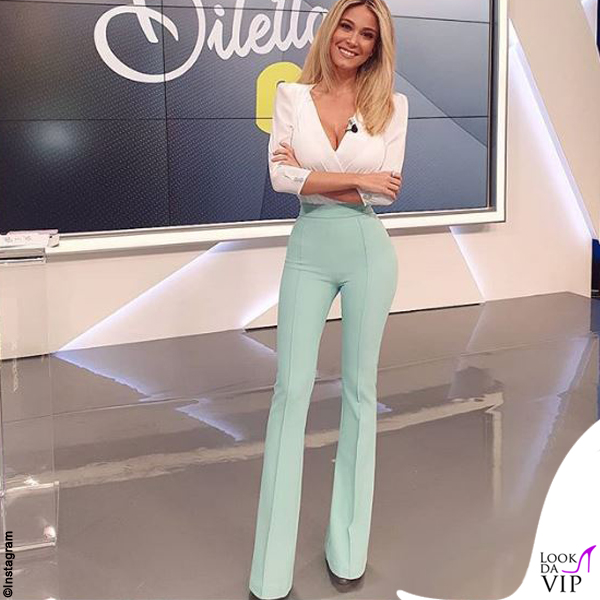 Diletta Leotta outfit Elisabetta Franchi 2