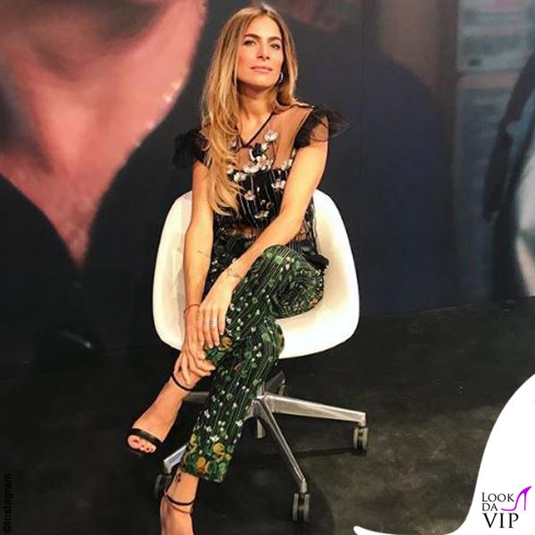 Eleonora Pedron outfit Red Valentino