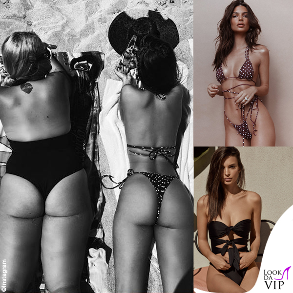 Emily Ratajkowski e Caitlin King bikini Inamorata 9