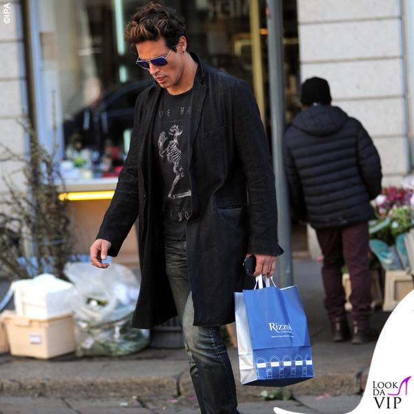 Gabriel Garko shopping Rizzoli