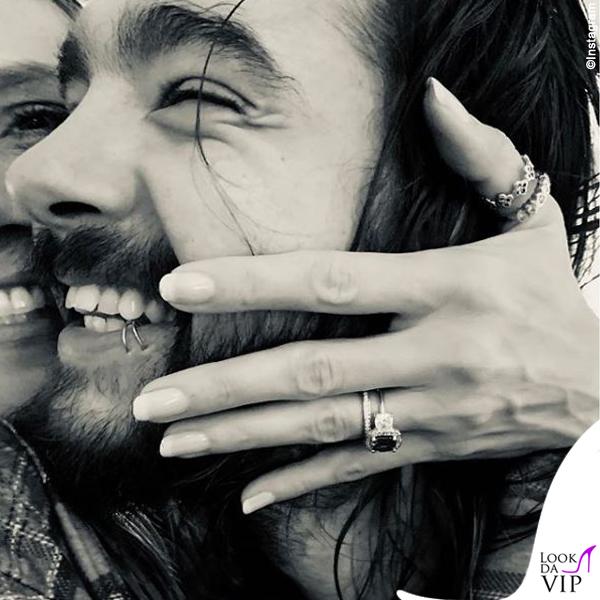 Heidi Klum anello di fidanzamento