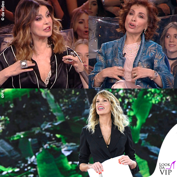 Isola 10 puntata Alba Parietti Alda D'eusanio Alessia Marcuzzi