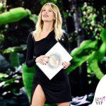 Isola ottava puntata Alessia Marcuzzi outfit Versace