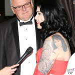 Kat Von D tatuaggi schiena