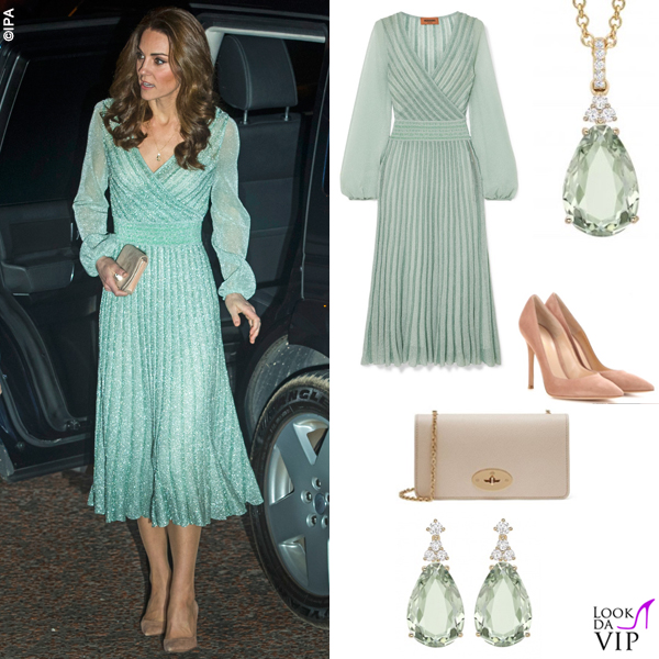 huge selection of 71788 5fc34 Kate-Middleton-abito-Missoni-clutch-Mulberry-pump-Gianvito ...